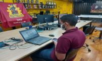 Equipe do Inatel vence primeiro campeonato virtual de mini sumô
