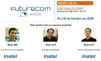 Professores do Inatel serão experts dos tours 5G e IoT/Cloud do Futurecom 2018